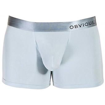 Obviously PrimeMan AnatoMAX Boxer Brief 3inch Leg - Ice Silver