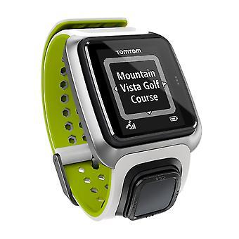 TomTom GPS golf zegarek - biały zielony