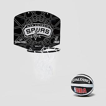 Spalding NBA SA SPurs Miniboard and Mini ball