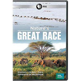 Nature's Great Race [DVD] USA import