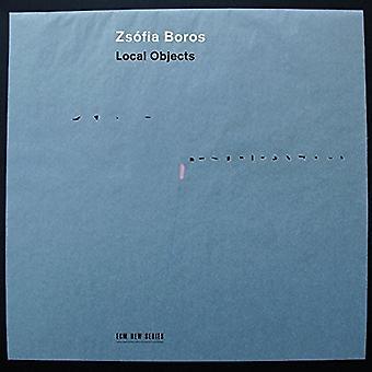 Zsofia Boros - importazione USA oggetti locali [CD]