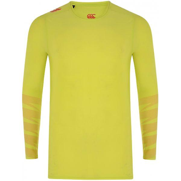 Canterbury 2014 Mercury TCR Control Long Sleeve Top (Yellow)