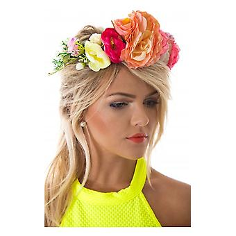 The Fashion Bible Summers Day Floral Hair Crown