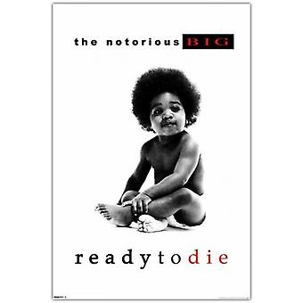 Notorious BIG Ready To Die Poster Poster Print