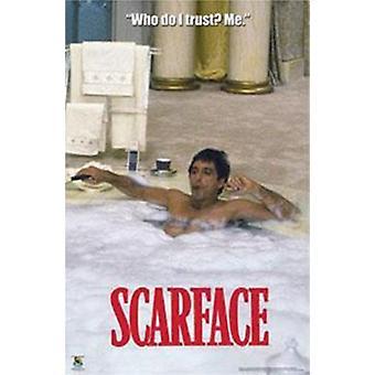 スカーフェイス - 浴槽ポスター ポスター印刷