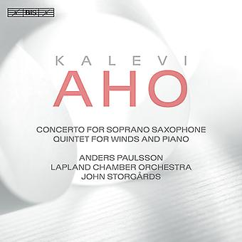 Aho / Paulsson / Storgards - Concerto pour Soprano Saxophone & Chamber Orchestra [SACD] USA import