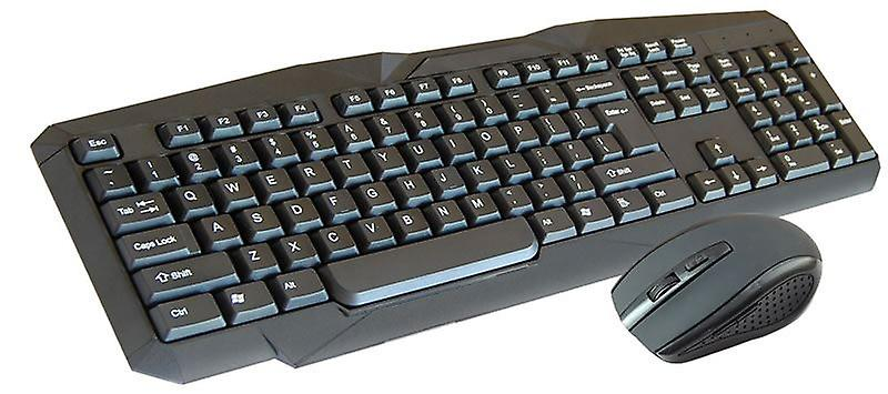 Infapower Full Size Wireless Keyboard and Mouse (Model No. X206)