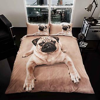 Pug Duvet Cover Bedding Set