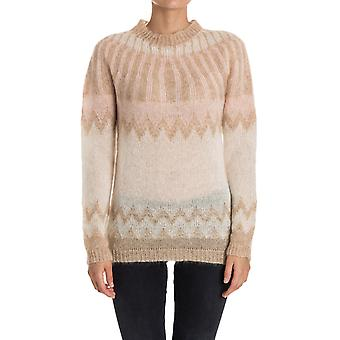 Woolrich women's WWMAG1661MO108682 beige Wool Sweater