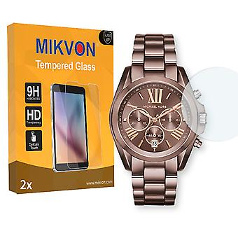 Michael Kors Bradshaw2024 Screen Protector - Mikvon flexible Tempered Glass 9H (Retail Package with accessories)