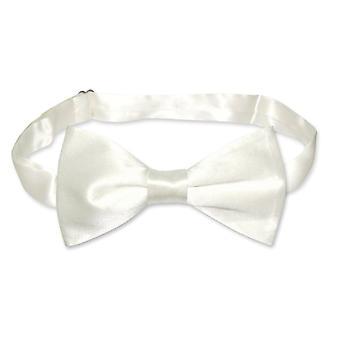 BIAGIO 100% SILK BOWTIE Solid Men's Bow Tie for Tux Suit