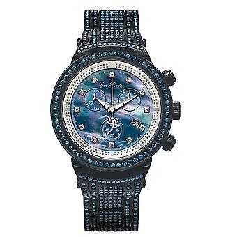 Reloj Joe Rodeo diamante hombres - MASTER black 25 quilates
