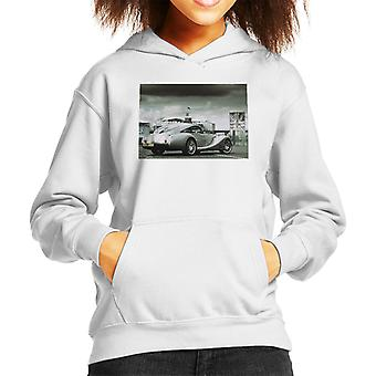 Morgan Motor Aeromax In The Paddock At Silverstone Kid's Hooded Sweatshirt