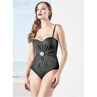 Black Swimsuit Elegance padded underwired bra