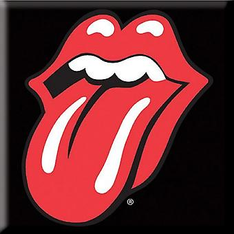 The Rolling Stones Fridge Magnet Classic Tongue new Official 76mm x 76mm