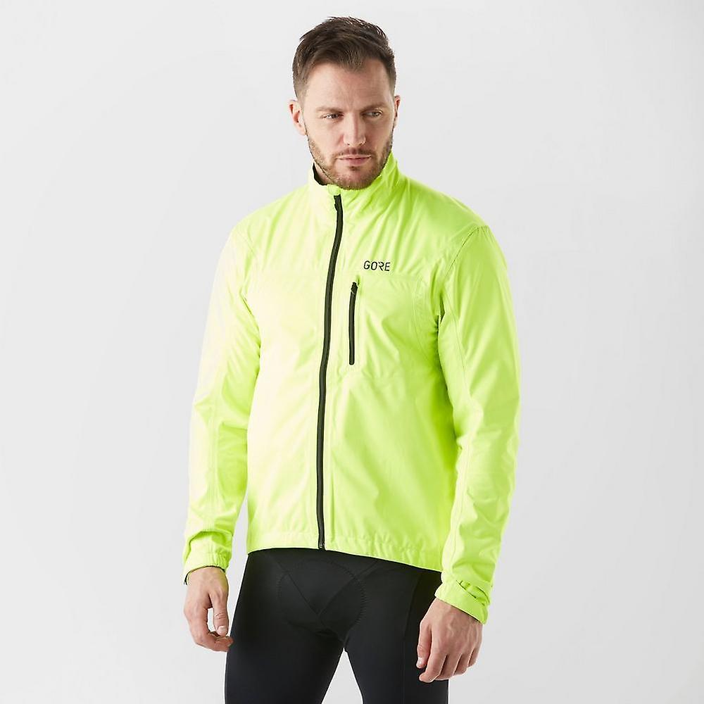 nouveau Gore Hommes& 039;s C5 GORE-TEX® imperméable de plein airs Active veste jaune
