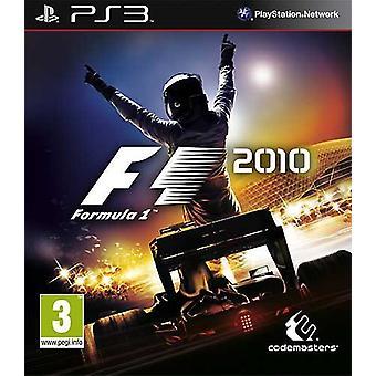 Formule 1 2010 (PS3)