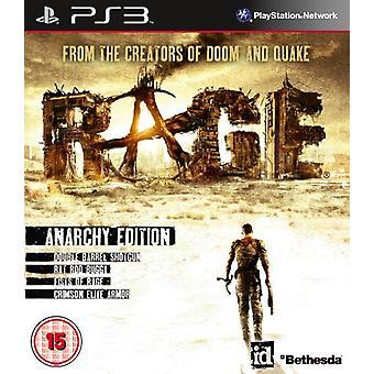 Woede anarchie editie (PS3)