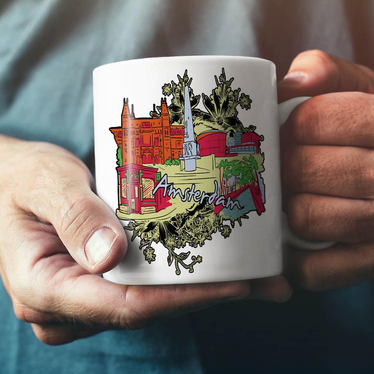 42 des mauvaises herbes nouveau thé blanc céramique café tasse 11 oz | Wellcoda