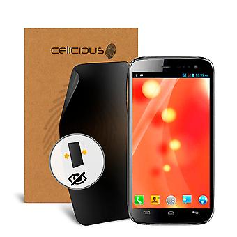Celicious Privacy 2-Way Visual Black Out Screen Protector for Micromax A116 Canvas HD