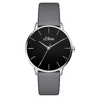 s.Oliver women's watch wristwatch leather SO-3528-LQ