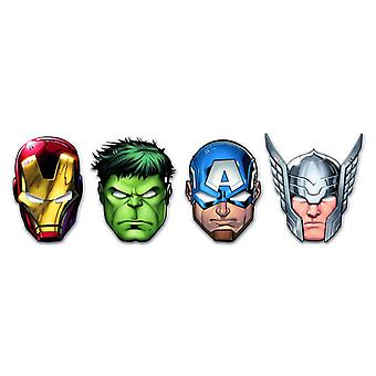 Mighty Avengers superhero party mask eye mask 6 piece children birthday theme party