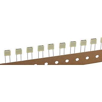 Kemet R82EC1330DQ50K+ PET capacitor Radial lead 3.3 nF 100 V 10 % 5 mm (L x W x H) 7.2 x 2.5 mm x 6.5 mm 1 pc(s)
