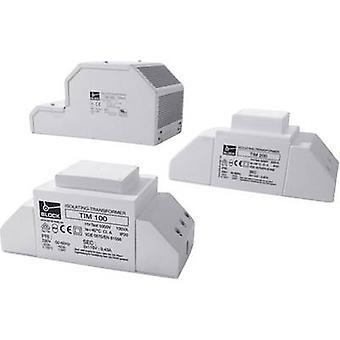 Block TIM 500 Isolation transformer 1 x 230 V 2 x 12 V AC 500 VA 2.17 A