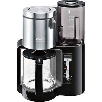 Siemens TC86303 Coffee maker Black, Anthracite Cup volume=15 Glass jug, Plate warmer