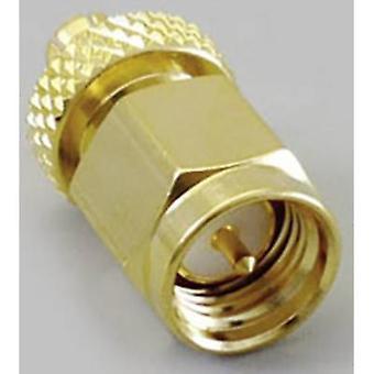 SMA adapter MCX plug-SMA plug BKL Electronic 04163221 pc(s)