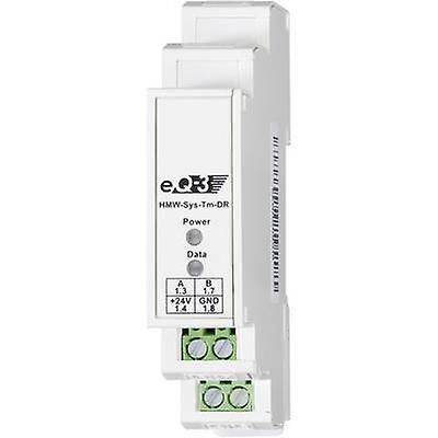 Terminaison de Homematic RS485 bus RS-485-BUSABSCHLUSS-W. 76807 rail DIN