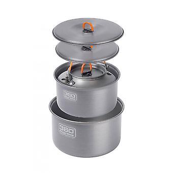 360 graden Furno grote Pot Set met waterkoker