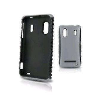 Body Glove Case Cover for HTC Evo Design 4G Smart Phone - Black/Gray