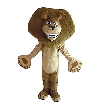 Alex's SPOTSOUND mascot, celebrates the Madagascar cartoon lion