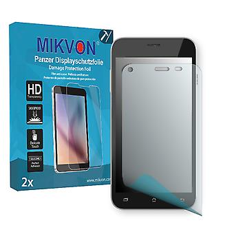Archos 50 Helium Plus 4G Screen Protector - Mikvon Armor Screen Protector (Retail Package with accessories)