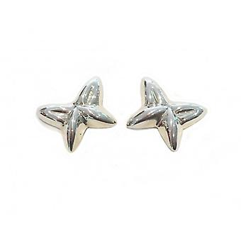 Cavendish Franse Sterling Zilver vormige Butterfly Stud Earrings Stud Earrings