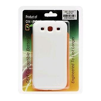 OnTrion Extended Battery & Door for Samsung Galaxy S3 - White