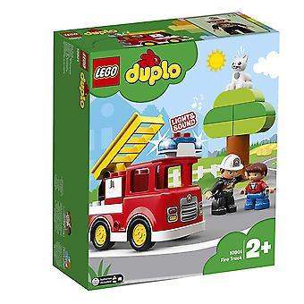Camion de pompier ville LEGO Duplo 10901