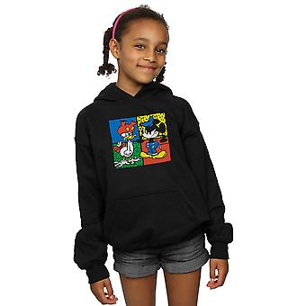 Disney Girls Mickey Mouse Donald Clothes Swap Hoodie