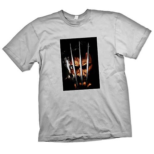 Mens T-shirt - Wolverine - X Men - Claw