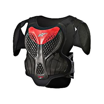 Alpinestars Black-Red 2018 Logo Kids MX Body Armour