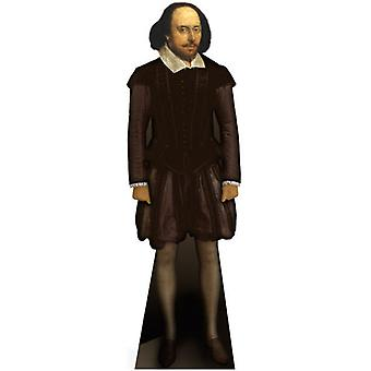 William Shakespeare - Lifesize Découpage cartonné / Standee