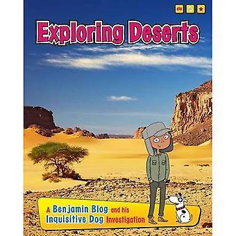 Explorando desertos: Um Blog de Benjamin e sua investigação inquisitiva cão (explorando Habitats com Benjamin Blog...
