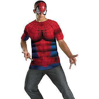 スパイダーマン大人用プラス サイズ キット
