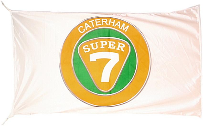 Large Caterham Super 7 flag 1500mm x 900mm (of)