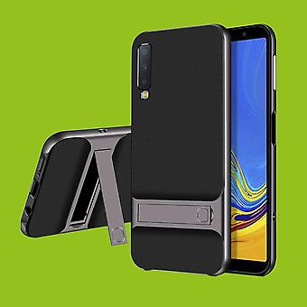 For Samsung Galaxy A7 A750F 2018 standing hybrid case 2 piece SWL outdoor grey bag case cover protection