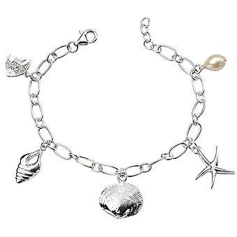 Vie de mer de débuts breloque - Silver
