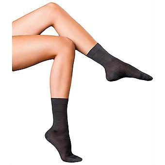 Falke Finest No2 Pure Silk Socks - Asphalt Grey