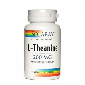 Solaray L-Theanine 200 mg 45 Capsules