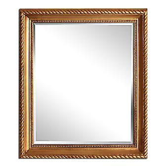 Dimensions 25x30 cm, mirror in gold